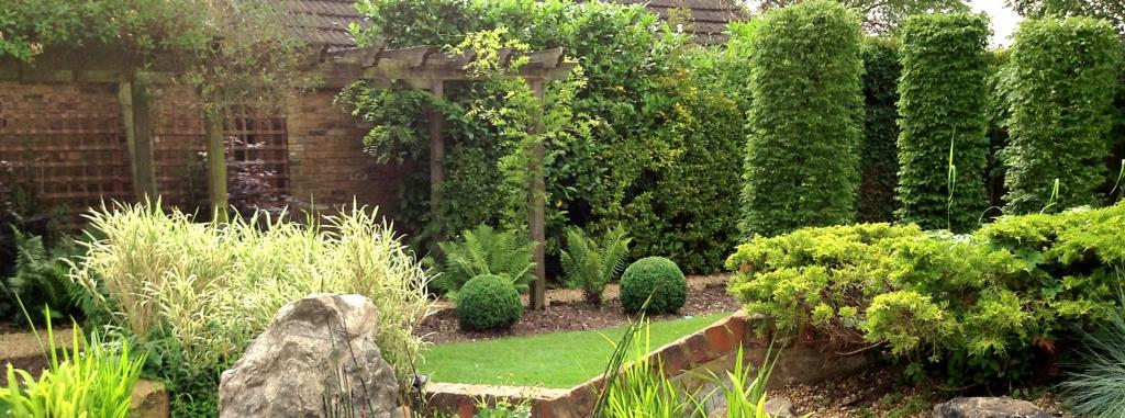 Garden design services Exeter topsham